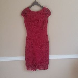 Lulus flower Print knee length dress